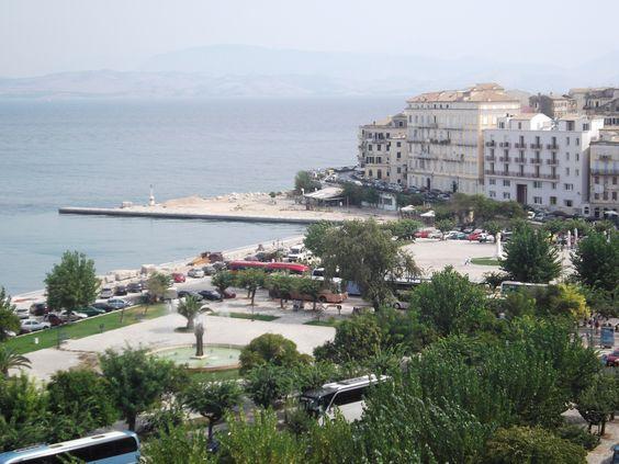 View of Corfu town
