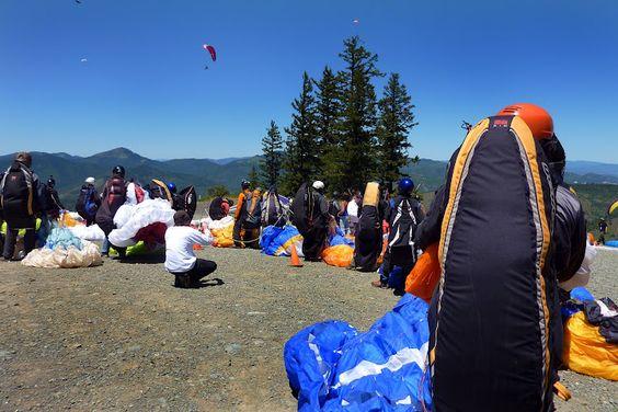 Line up for the start gate - Rat Race, Woodrat Mt., Oregon