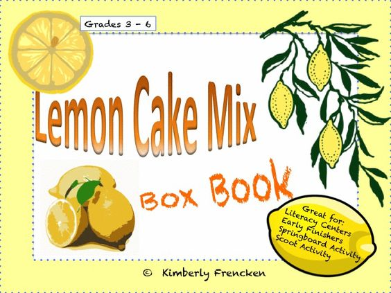 Don't let the tart title baffle you! This tidy little box book is a great way to introduce real-world informational text to your students. There are many uses for this unique resource! Check it out!