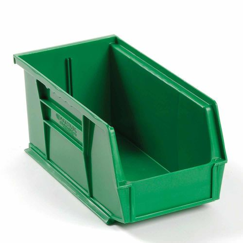 Bins Totes Containers Bins Stack Hang Global 8482 Plastic Stackable Bin 5 1 2 X 10 7 8 X Stackable Bins Plastic Stackable Bins Plastic Storage Bins