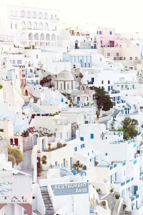 Santorini. @thecoveteur
