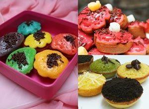 resep kue cubit green tea dan rainbow | JAJANAN PASAR/KUE | Pinterest ...
