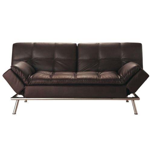 Sofa Clic Clac Convertible Capitone 3 Plazas Marron Sofa Inspiration Couch Set Unique Sofas