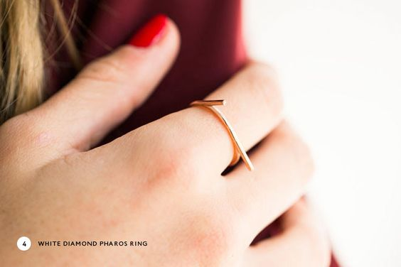 Miss Moss x Of a Kind Giveaway - win the White Diamond Pharos Ring! Click through to enter.