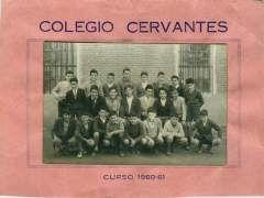 Bachilleres del Colegio Cervantes de Medina del Campo (Valladolid) Curso 1960-61.