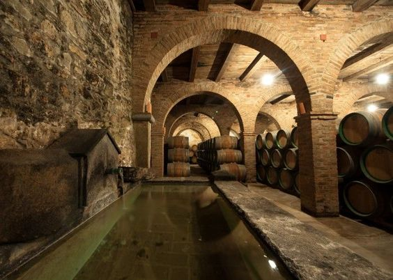 Bodegas Medina, en Zafra nos ofrece esta imagen, un antiguao convento hecho Bodega, con unos vinos espectaculares que no tienen nada que envidiar a los de Ribera del Duero, faltará marketing pero no calidad!