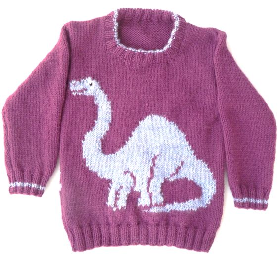 Jumpers, Dinosaurs and Knitting on Pinterest