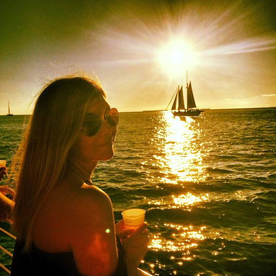 Sunset cruise in key west. Click to read our vacation tips