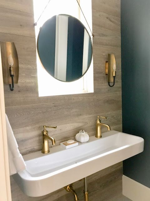 House Beautiful Whole Home Project Pt 2 Home Projects Round Mirror Bathroom Beautiful Homes