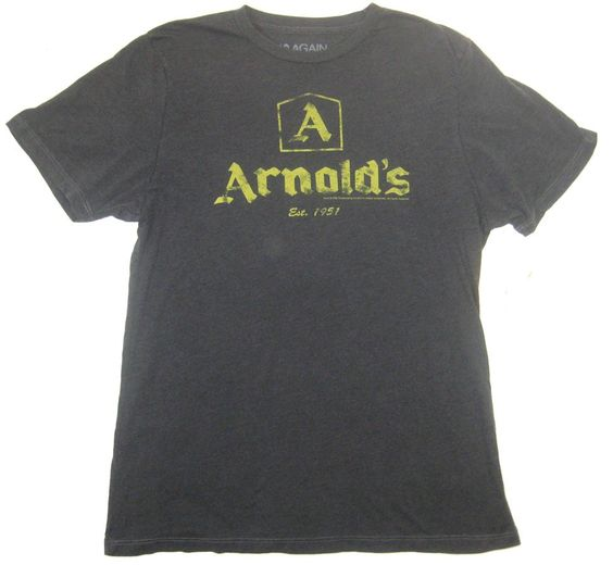 Happy Days Arnold's Men's T-Shirt Coal