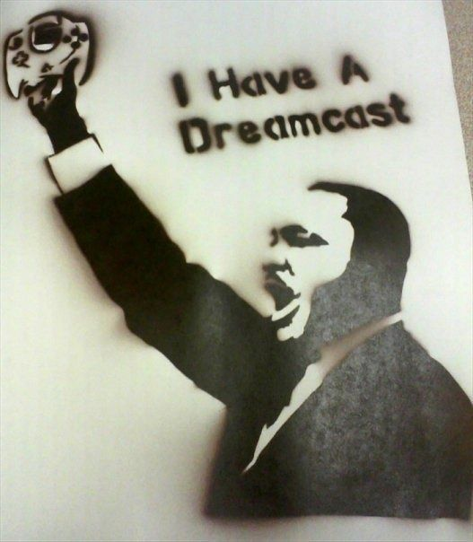 MLK would want us to laugh.: Mlk Dreamcast, Play Dreamcast, Funny Stuff, Sega Dreamcast, Dream Cast, Video Games, Game Stuff