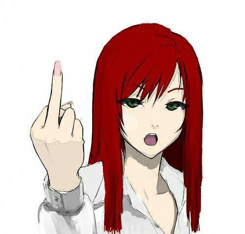 Girl Red Hair And Green Eyes Anime Red Hair Girls With Red Hair Cute Manga Girl