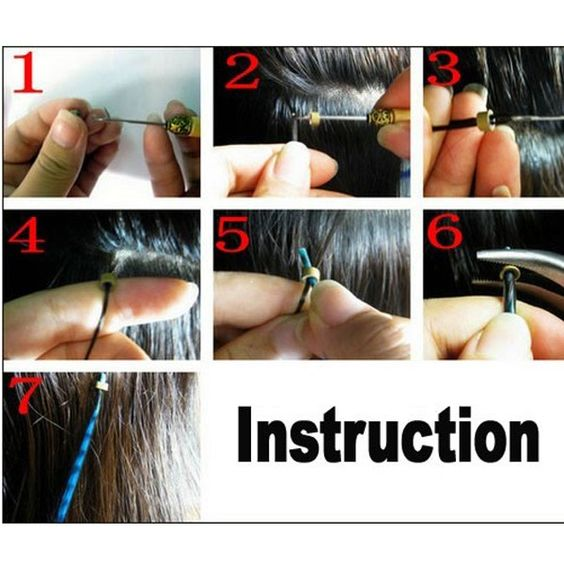How to do hair extensions~~~