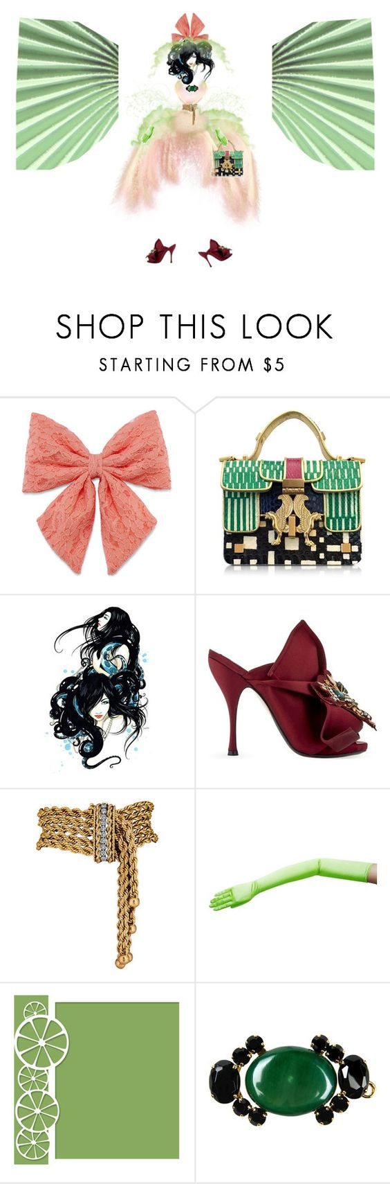 """Miss effect"" by diannecollier ❤ liked on Polyvore featuring Decree, Giancarlo Petriglia, N°21, Marni and vintage"
