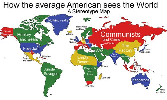 How the U.S. sees the world