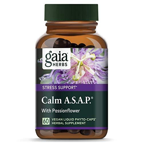 Calm Now Soothing Stress Support Supplement Herbal Blend Crafted To Keep Busy Minds Relaxed Focused Positive Supports Serotonin Increase Hawthorn Ashwaga In 2020 Gaia Herbs Herbal Blends Stress Support