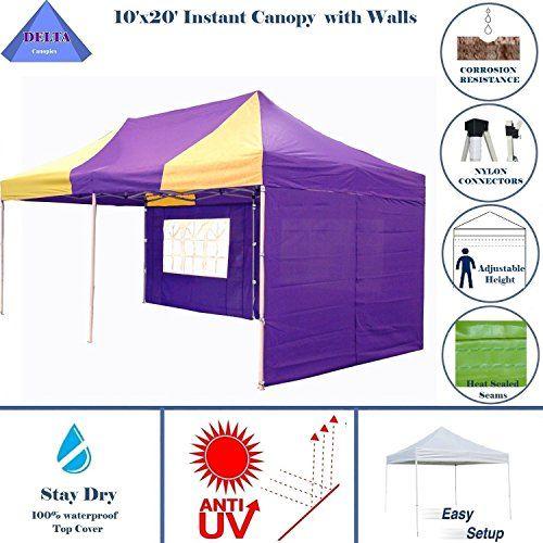10 X20 Ez Pop Up Canopy Party Tent Instant Gazebos 100