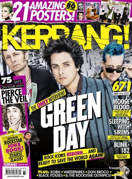 Green Day Official Website: Music, Videos, Photos, Lyrics, Tour Dates, Forums