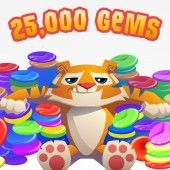 """She wants """"money"""" to spend on things.  This is  a 25,000 Gems Gift Certificate.  I don't know whether she'd rather have gems or diamonds.  They are different."""