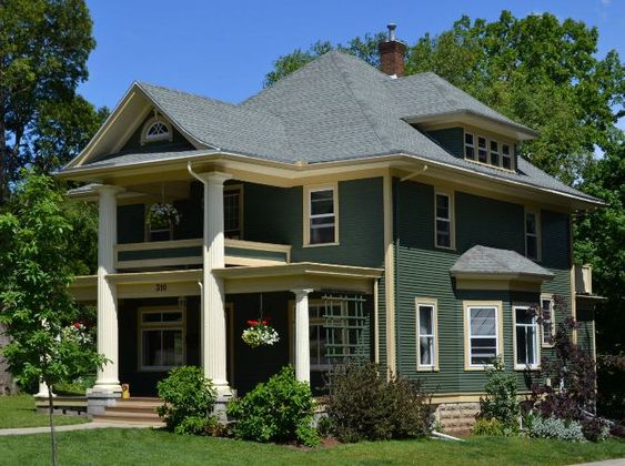 2012 Wisconsin Colonial Revival Project Historic House Colors