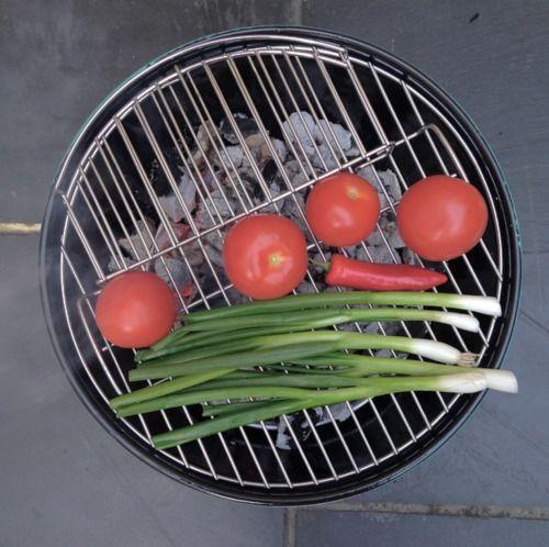 Barbecued  Roast Chilli Salsa