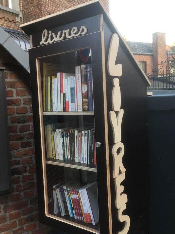 Boite à livres Marche en Famenne