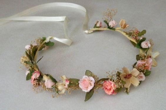 Romantique corone des fleurs par WILDOLD sur Etsy