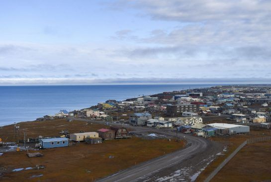 Above the Arctic Circle, climate change closes in on the remote town of Barrow