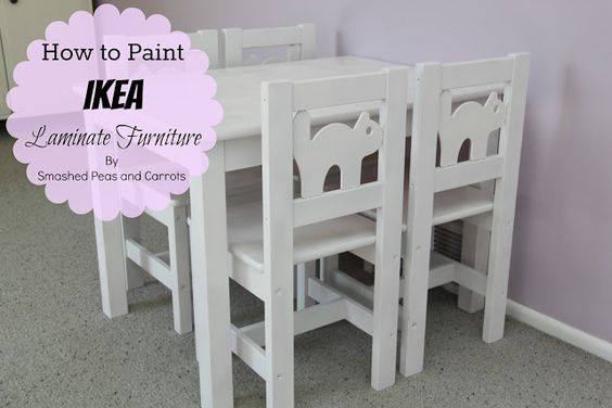 How To Paint Ikea Laminate Furniture Tutorial 1 Wipe Down Furniture 2 Zinsser Cover Stain Oil