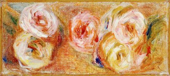 Pierre-Auguste Renoir - Strewn Roses, c.1915