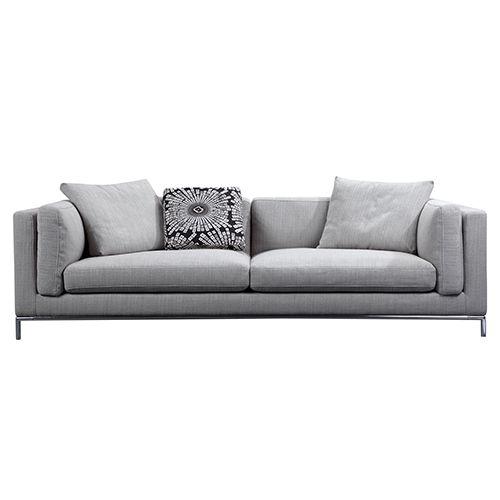 Vienna Dark Grey Corner Sofa Leather Sofa Set Sofa Cheap Couch