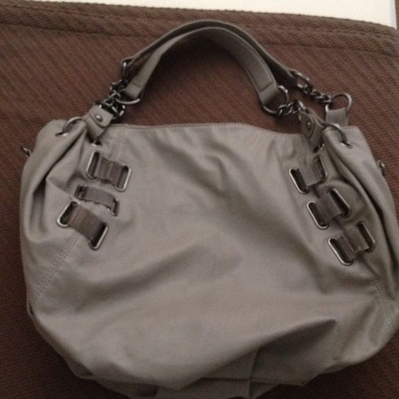 Gray Fashion Bag used once only! Gray Fashion Bag used once only! Olivia + joy Bags