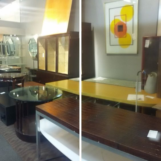Below are several photos of a beautiful antique gallery, taken by our team  before moving a whole collection of unique Art Deco furniture pieces. - The Art Of Shipping Antique Furniture Fine Art Shippers
