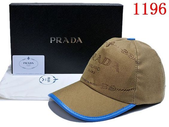 Prada baseball caps, 1 : 1 Quality, fashion spring Casquette for men and women cotton hat, replica shop
