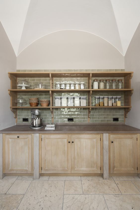 Pantry for a Villa in Tuscany designed by Artichoke www.artichoke.co.uk