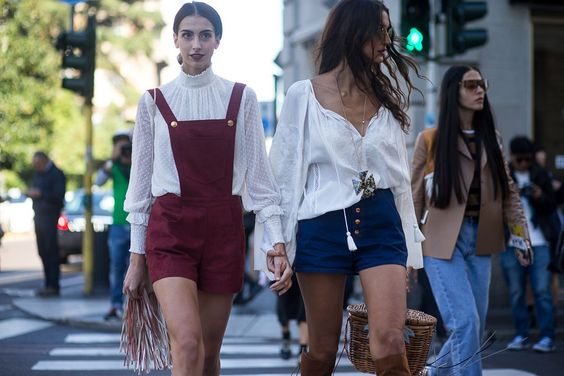 Paris Fashion Week street style inspiration (Vogue.co.uk)