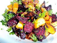 Roasted Beet and Rutabaga Salad