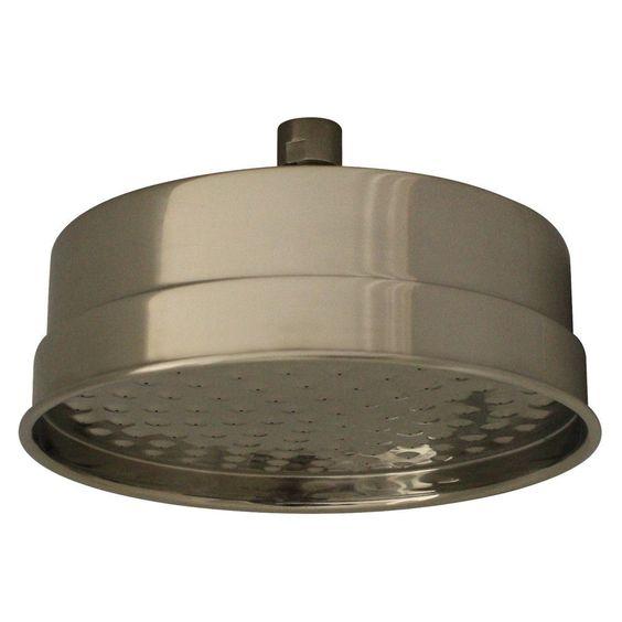WHOSA29-8-BN Brushed Nickel Showerhaus Watering Can Showerhead With 141 Spray Holes