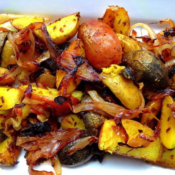 Indian Roasted Potatoes
