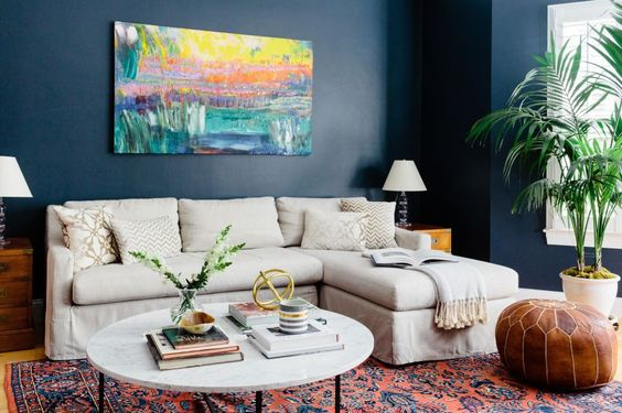 It all started with a bold painting for Homepolish designer Jessica Klein.