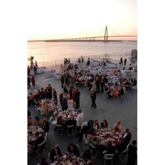 The Flight Deck Of USS Yorktown Aircraft Carrier Is A Once In Lifetime Wedding Venue Located Charleston South Carolina