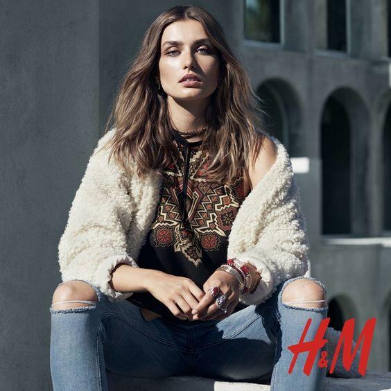 H&M: consegue o look rock boémio perfeito
