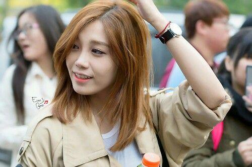 Eunji Shoulder Length Hair Kpop Boys And S Pinterest