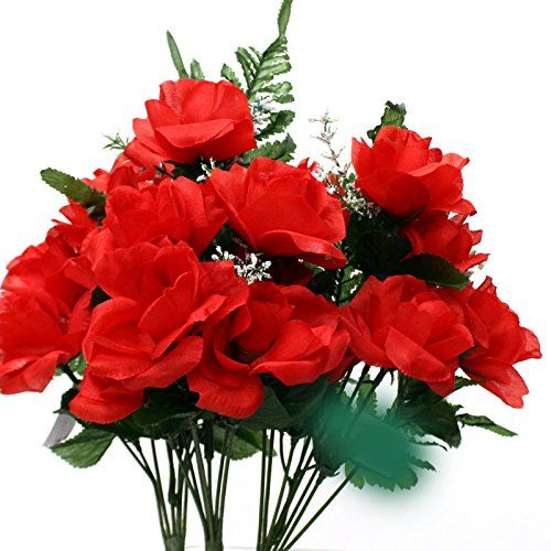 3 Bunches Open Mini Roses (7 Flowers) (Red) AtoZ Online LLC http://www.amazon.com/dp/B00WFD1IZQ/ref=cm_sw_r_pi_dp_OLwnvb04RRPA7: