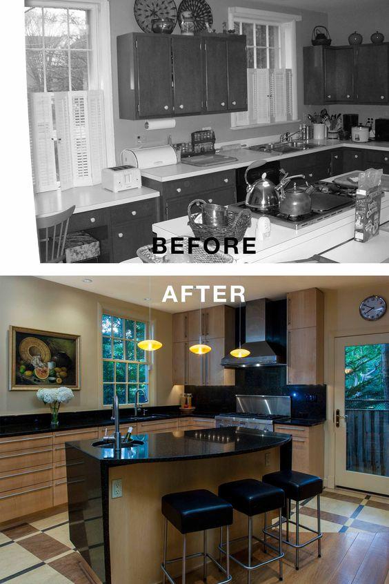 Residence 32 Before & After Ossolinski Architects  Washington DC