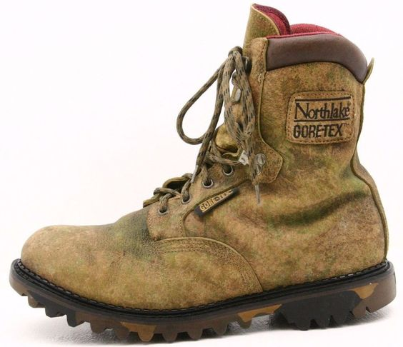 Northlake Camo mens boots size 13 wid
