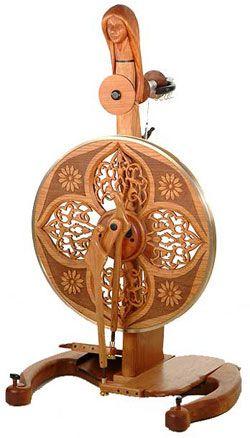 Halbetrot Golding Spinning Wheel