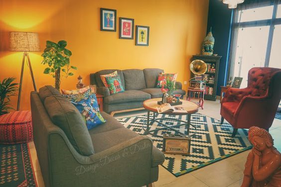 25 Yellow Living Room Ideas For Freshly Looking Space Decortrendy Yellow Walls Living Room Living Room Decor Colors Living Room Decor Yellow Walls