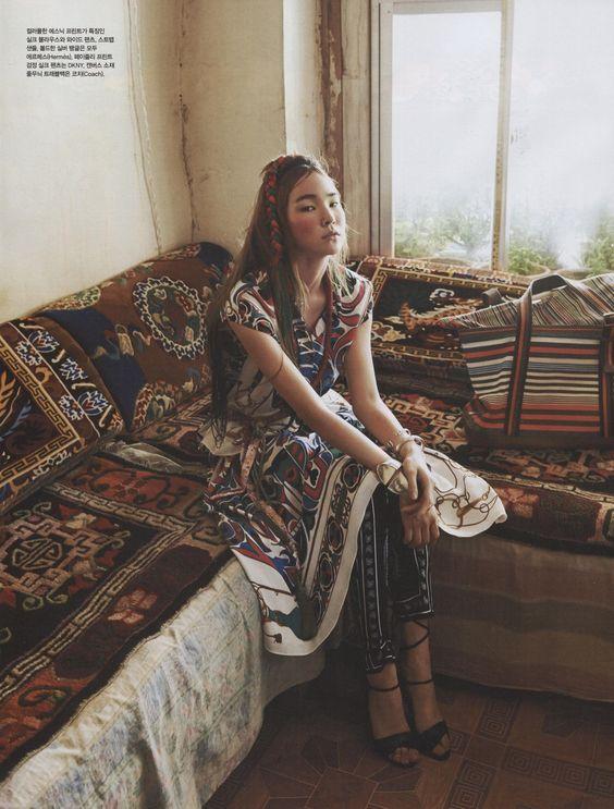 Vogue Coréia Julho 2014
