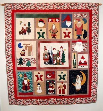 Santa quilt